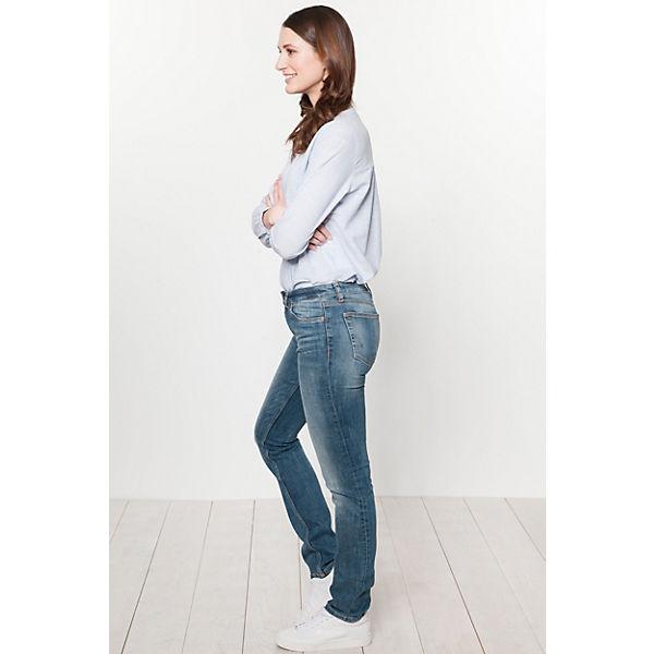 TOM Denim Jeans TAILOR Elsa Straight grau B4rxS5Bwq