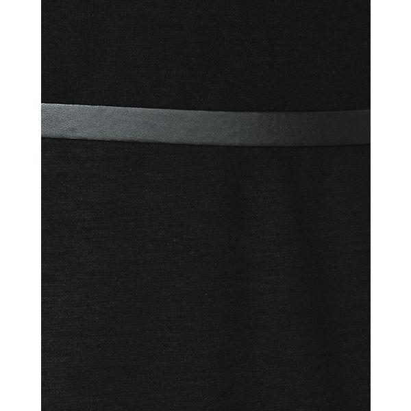 schwarz Jerseykleid Q Q S S gqI00a
