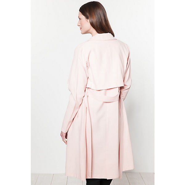 pieces Trenchcoat rosa pieces rosa pieces Trenchcoat wq6xcYB1