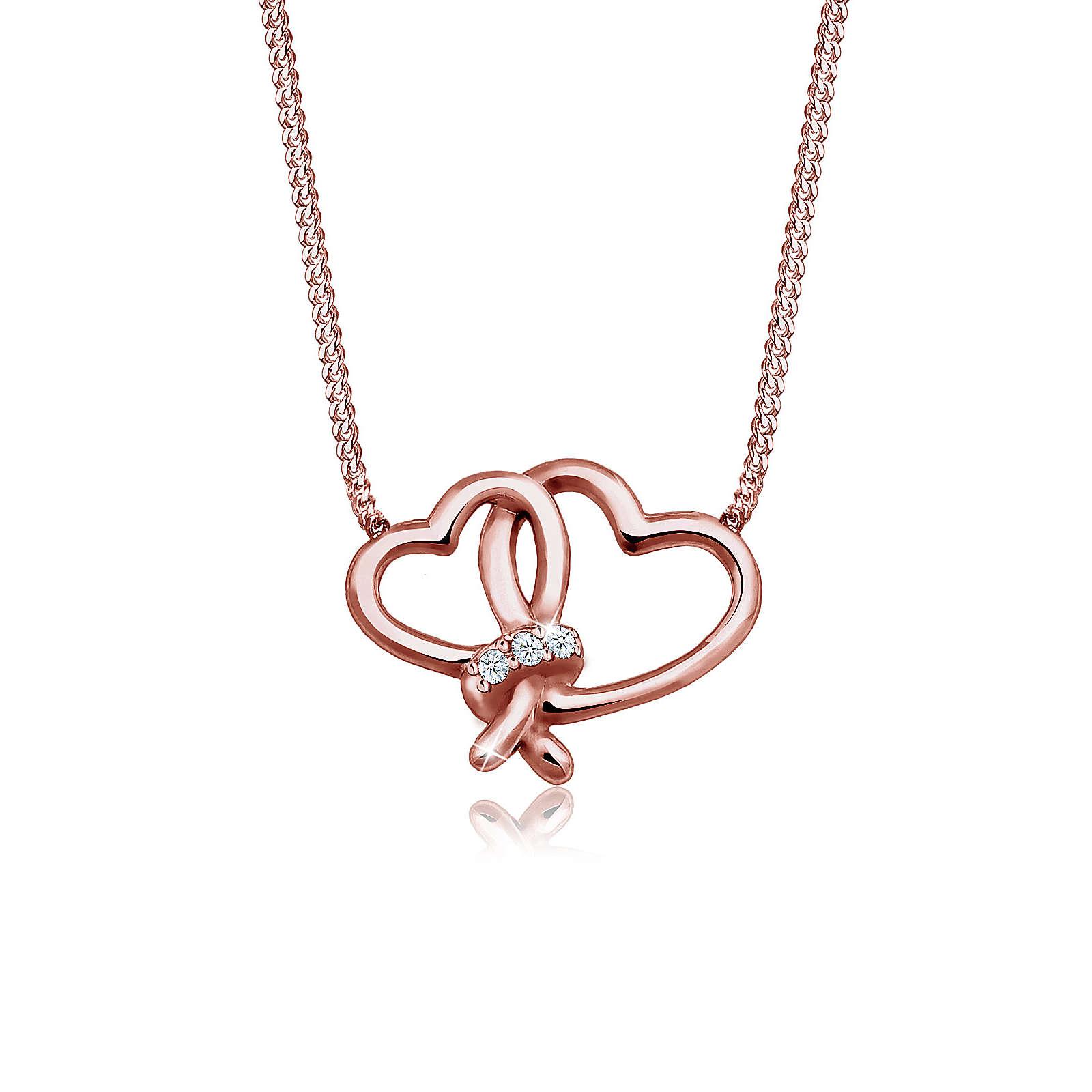 Diamore Halskette Herz Liebe Diamant (0.06 ct.)...