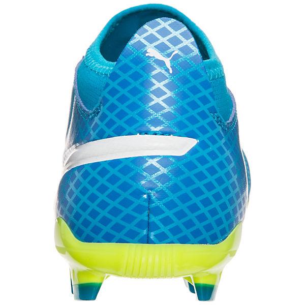 PUMA, Fußballschuhe ONE 17.3 FG, blau/gelb  Gute Qualität beliebte Schuhe