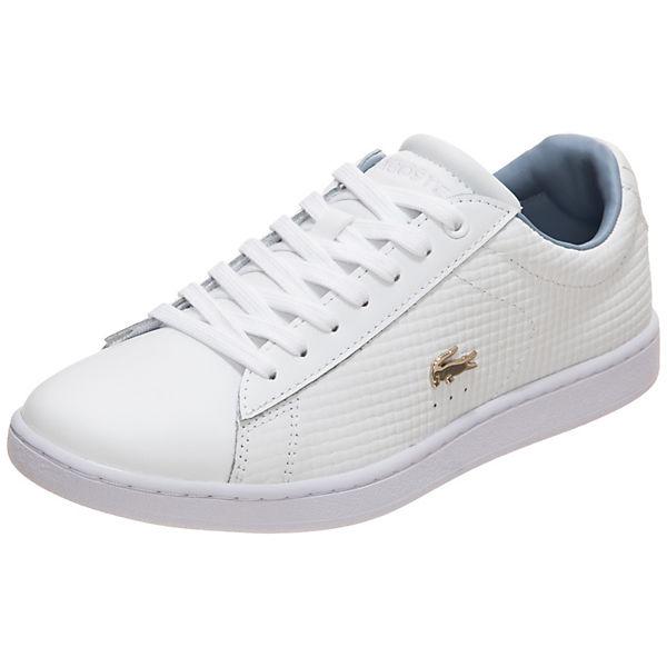LACOSTE Sneakers Low Carnaby Evo weiß