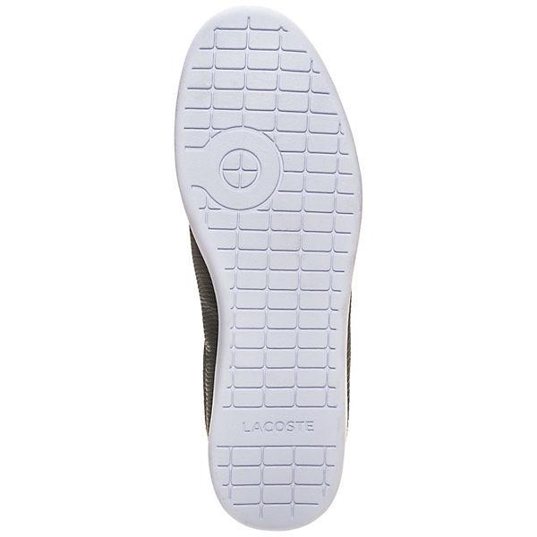 LACOSTE Sneakers Low Carnaby Evo dunkelgrau