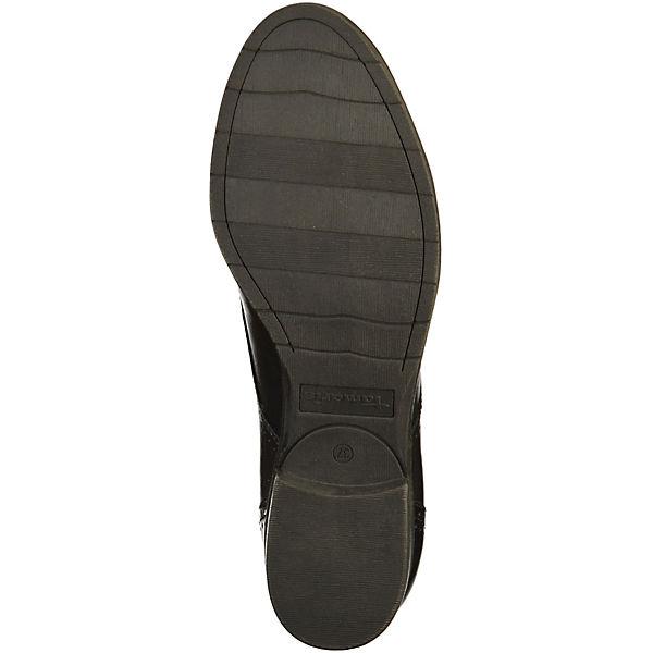 Tamaris Schnürschuhe schwarz