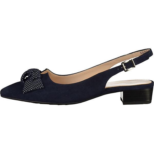 PETER KAISER, Sling-Pumps, dunkelblau  Gute Qualität beliebte Schuhe