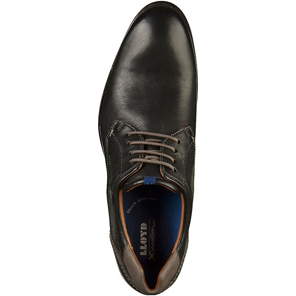 LLOYD Business-Schnürschuhe schwarz/grau