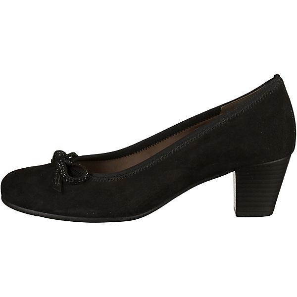 Gabor, Klassische Pumps, schwarz  Schuhe Gute Qualität beliebte Schuhe  f9b8f6