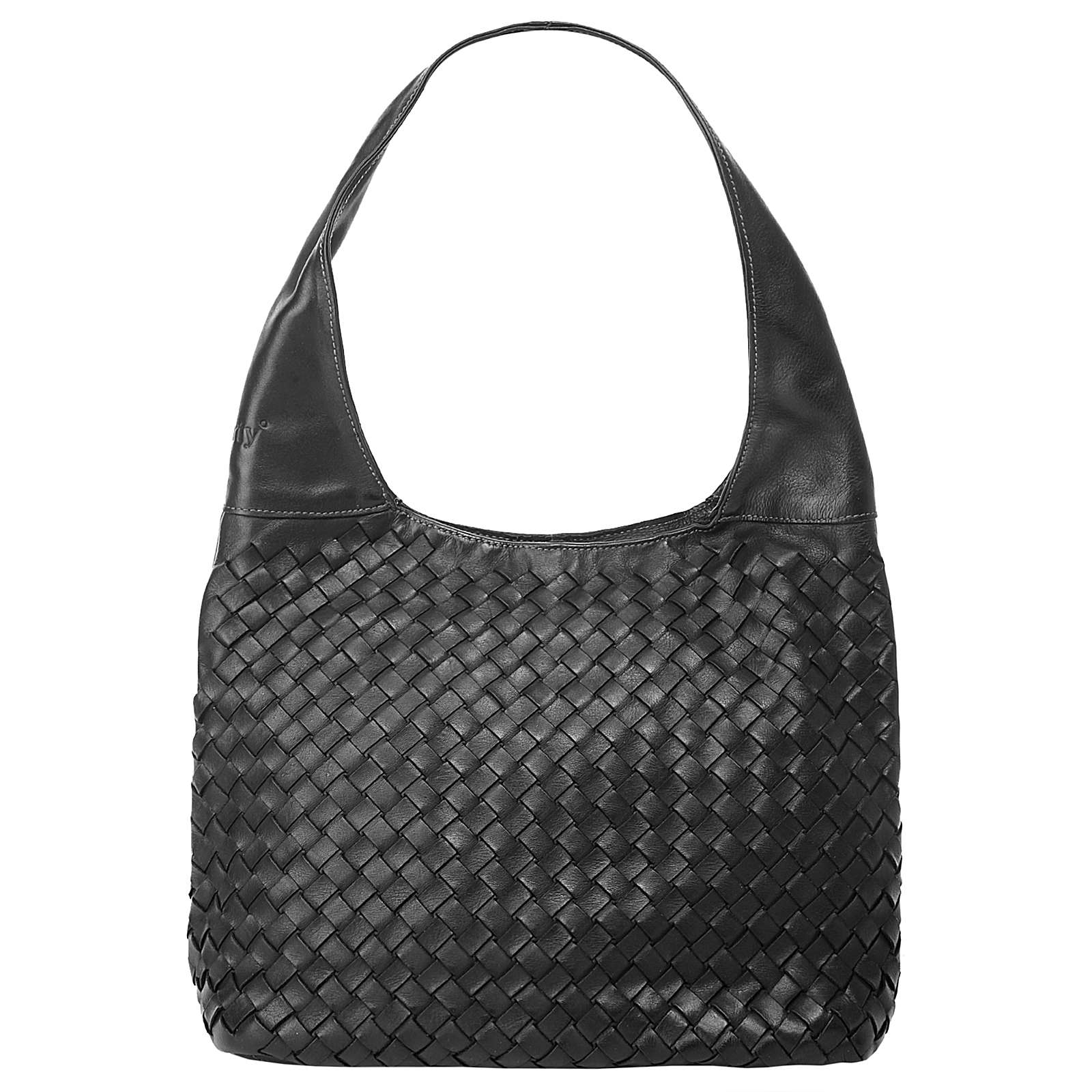 forty degrees Shopper Hobo schwarz Damen