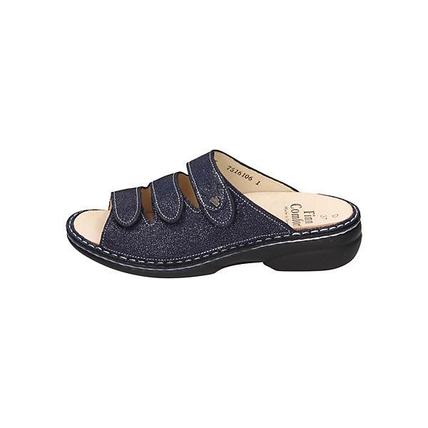Finn Comfort, Komfort-Pantoletten, beliebte blau  Gute Qualität beliebte Komfort-Pantoletten, Schuhe 6a45eb