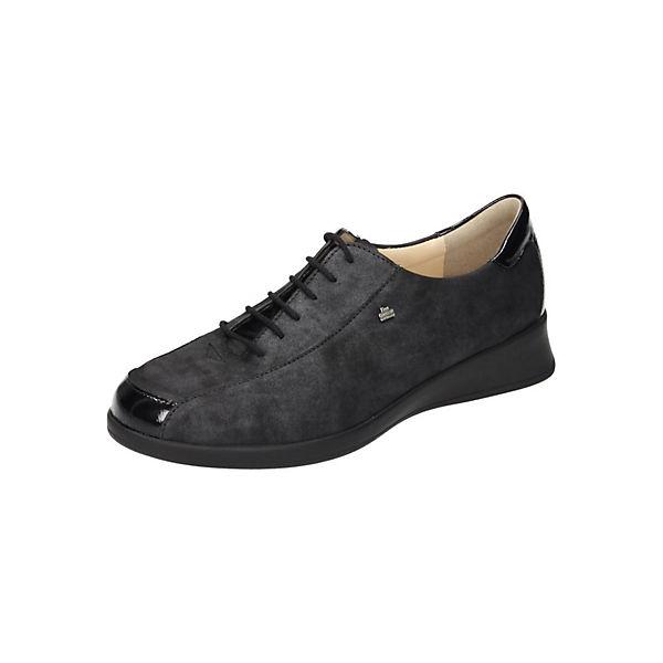 Finn Comfort Schnürschuhe schwarz