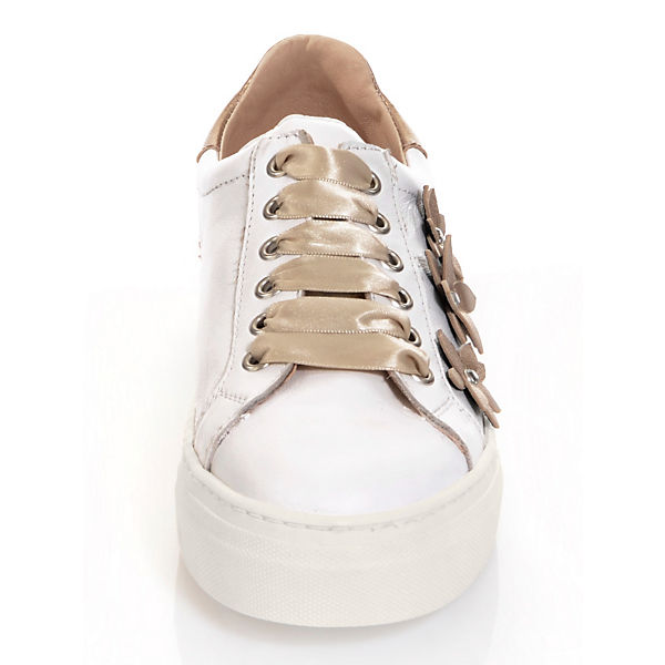 Alba Moda Sneakers Low weiß-kombi