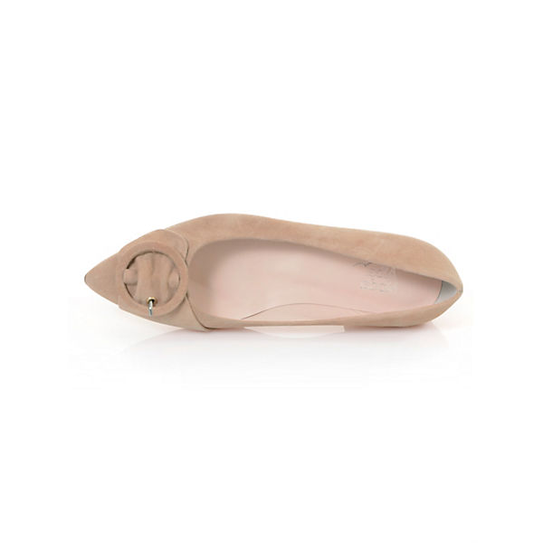 Alba Moda Klassische Ballerinas rosa