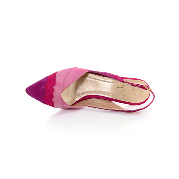 Alba pink Alba Moda Sling Moda Pumps rSTrzqR