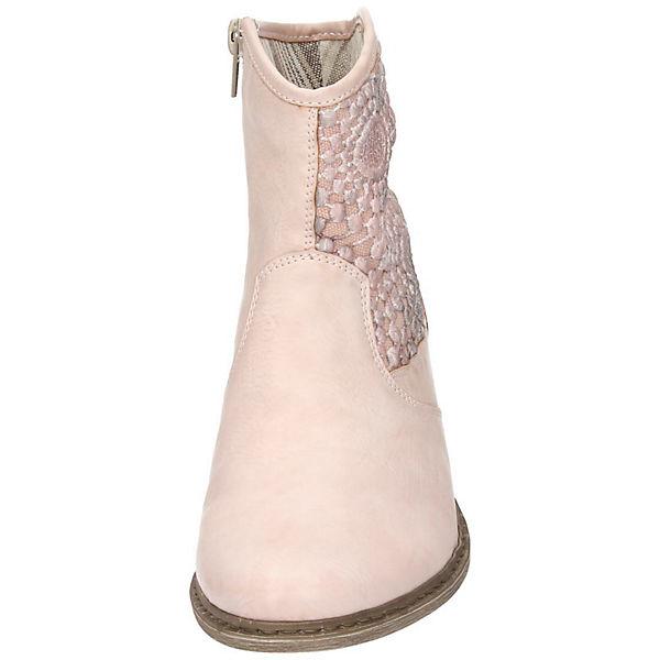 rieker Westernstiefeletten rosa