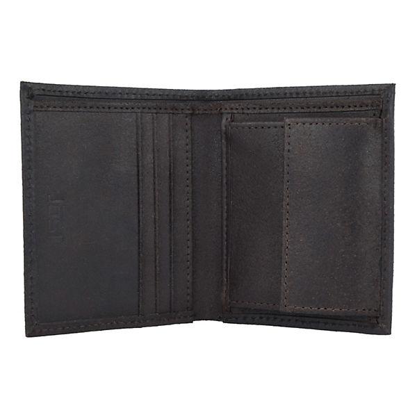 Jost Geldbörse Narvik 8,5 cm schwarz