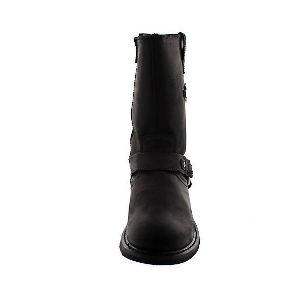 Harley Davidson, Biker Boots JOSH, schwarz  Gute Qualität beliebte Schuhe