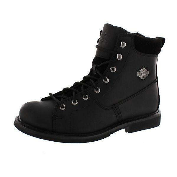 schwarz schwarz Davidson Davidson AARON Schnürstiefeletten Harley schwarz Harley AARON AARON Harley Harley Schnürstiefeletten Schnürstiefeletten Davidson w04qY6Sx