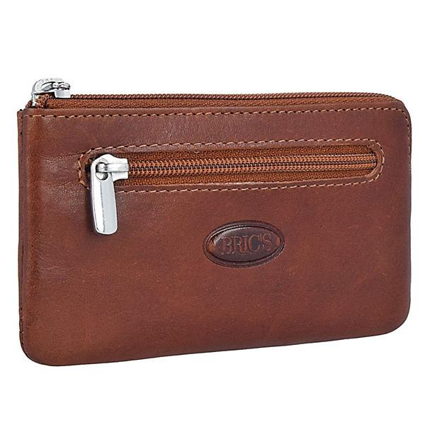Bric's Schlüsseletui Monte Rosa 12,5 cm braun