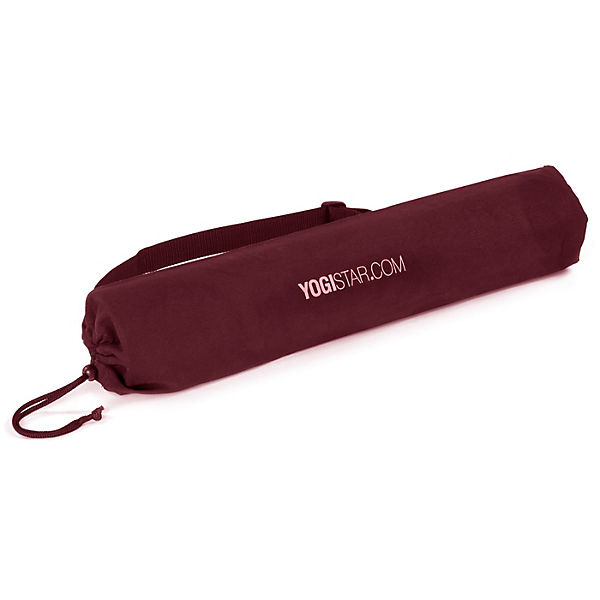 Yogistar Yogatasche basic - cotton - 65 cm bordeaux