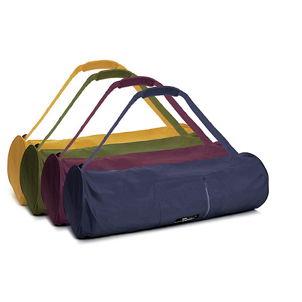 Yogistar Yogatasche basic - zip - extra big - nylon - 80 cm gelb