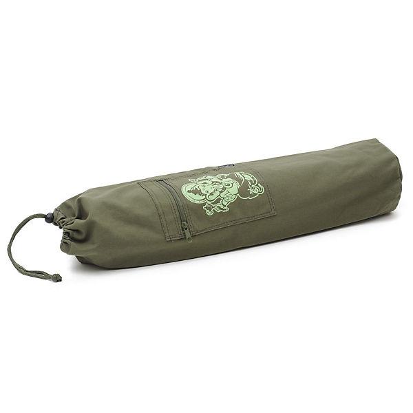 Yogistar Yogatasche basic - cotton - art collection - 65 cm grün