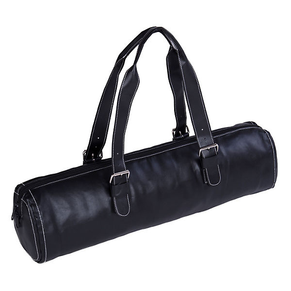Yogistar Yogatasche fashion - zip - leather - 62 cm schwarz