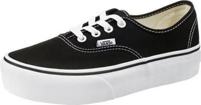 VANS, Ua Authentic Sneakers Low, schwarz
