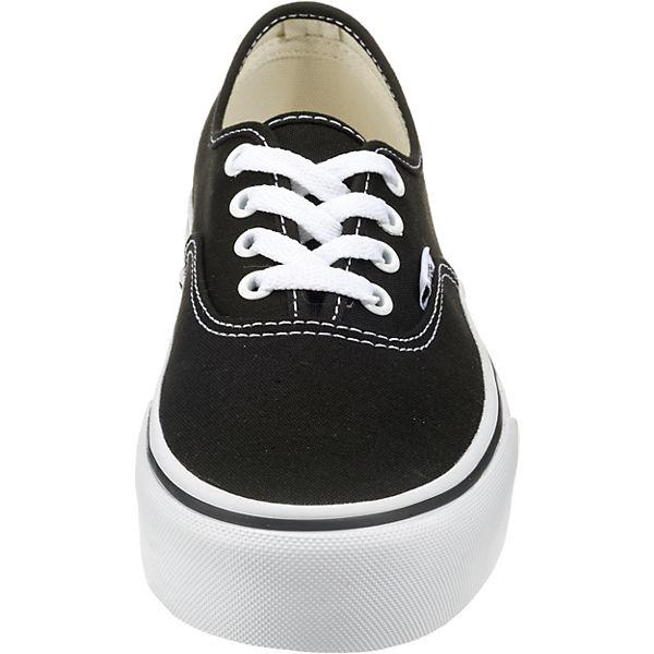 VANS, UA UA UA Authentic Plateau Sneakers, schwarz   7fc461