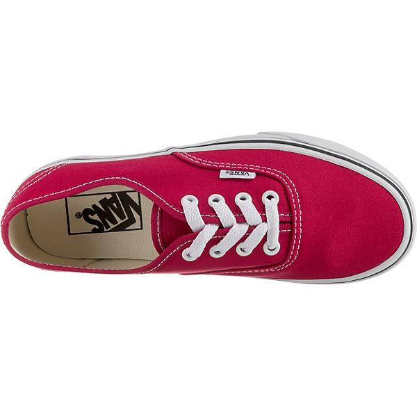 VANS,  UA Authentic Sneakers, rot  VANS, Gute Qualität beliebte Schuhe b034df