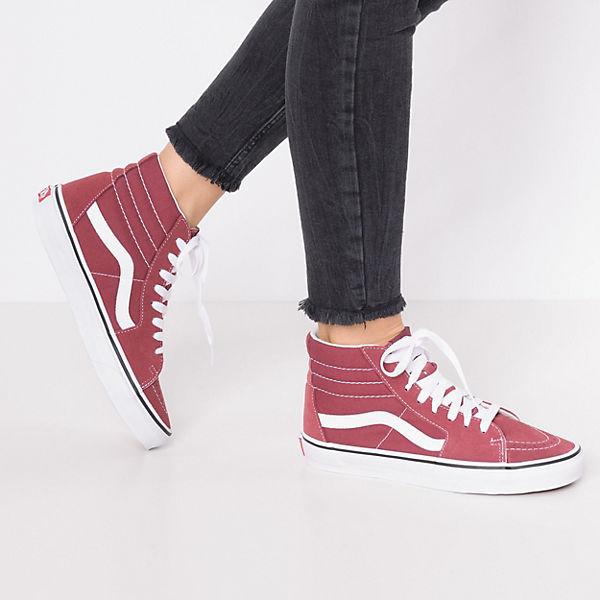 VANS, SK8-Hi UA SK8-Hi VANS, Sneakers, rot   afef0f