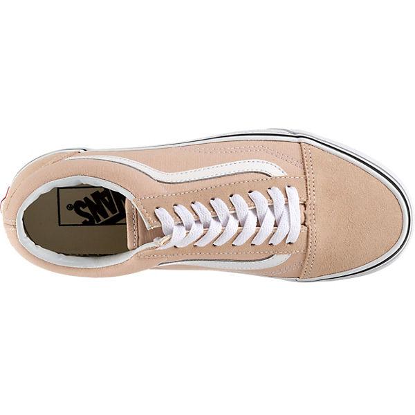 beige VANS UA Skool Sneakers Old q6AwrI6