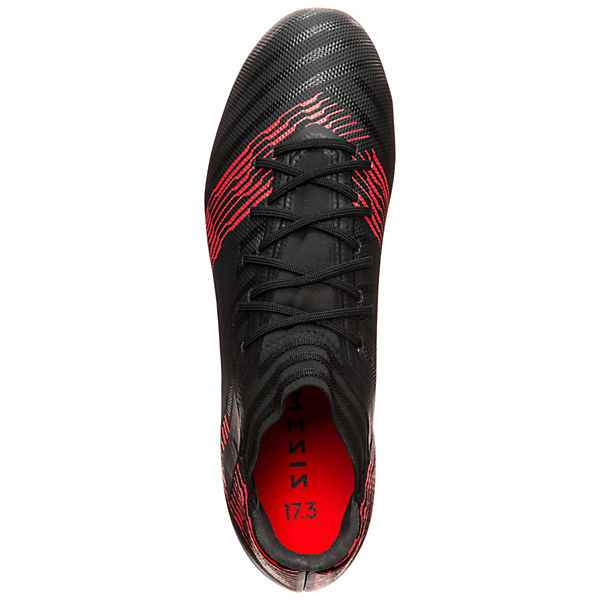 adidas Performance Fußballschuhe Nemeziz 17.3 AG schwarz/rot