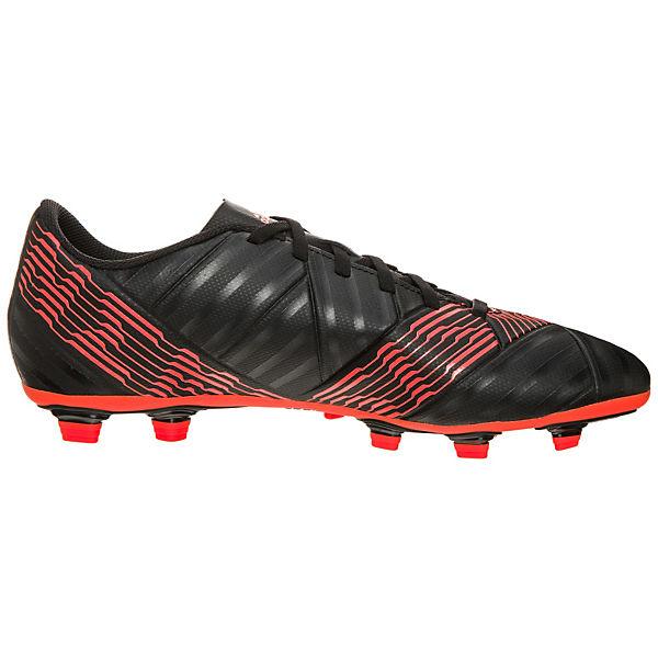 adidas Performance Fußballschuhe Nemeziz 17.4 FxG schwarz/rot