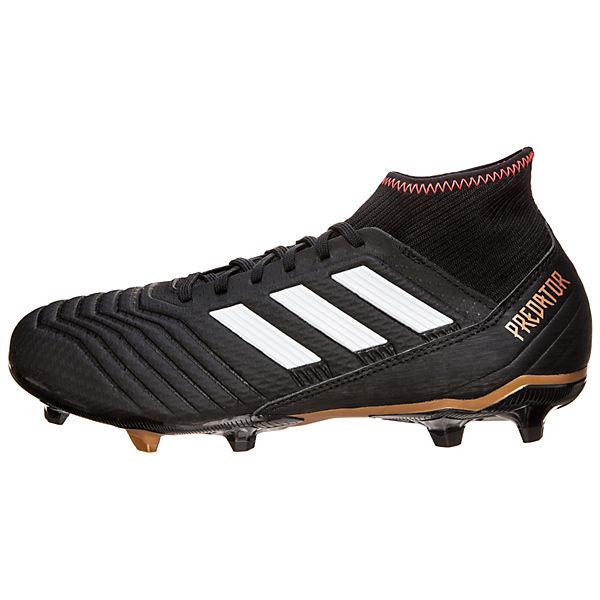 adidas Performance Fußballschuhe Predator 18.3 FG schwarz/weiß