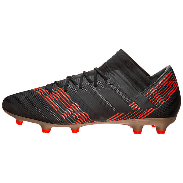 rot schwarz FG Performance Nemeziz 17 3 Fußballschuhe adidas T4wAqvxfx