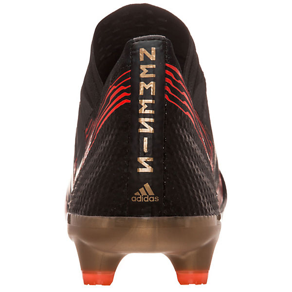 adidas Performance, Fußballschuhe Nemeziz 17.1 FG, schwarz/rot  Gute Qualität beliebte Schuhe