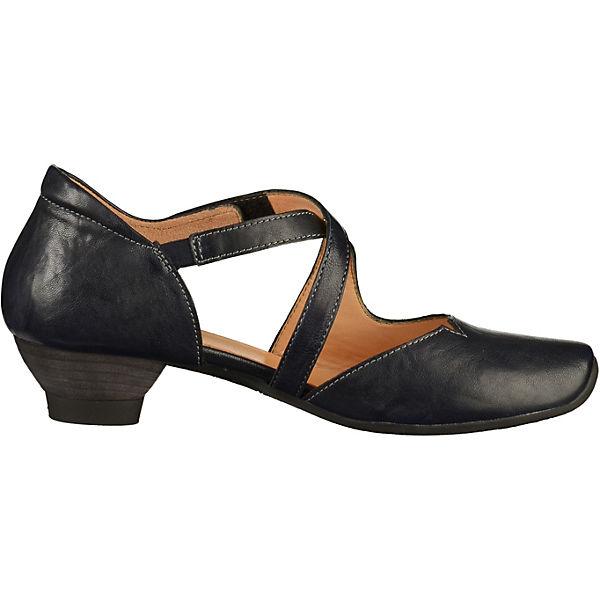 Think!, Spangenpumps, Gute dunkelblau  Gute Spangenpumps, Qualität beliebte Schuhe 0c3ab9