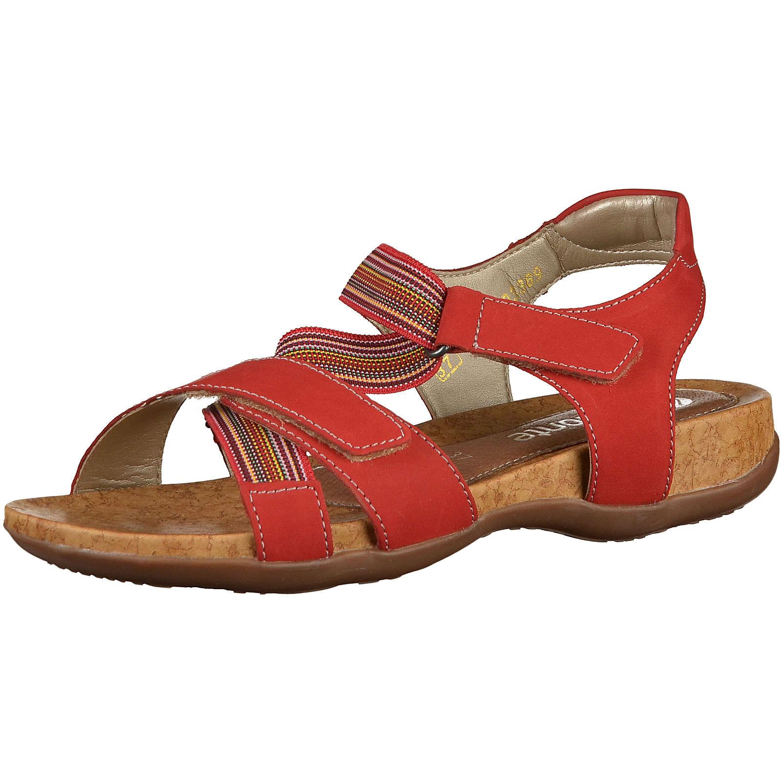 remonte Klassische Sandalen rot Damen Gr. 36