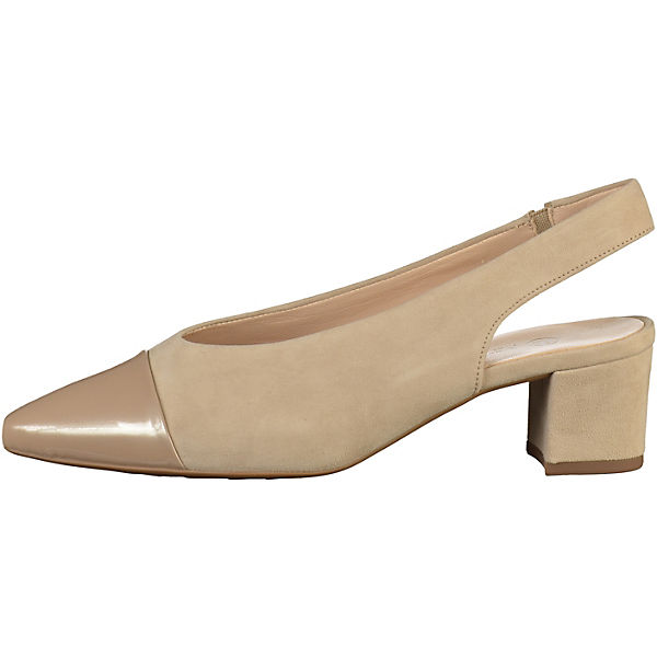 PETER KAISER Sling-Pumps beige