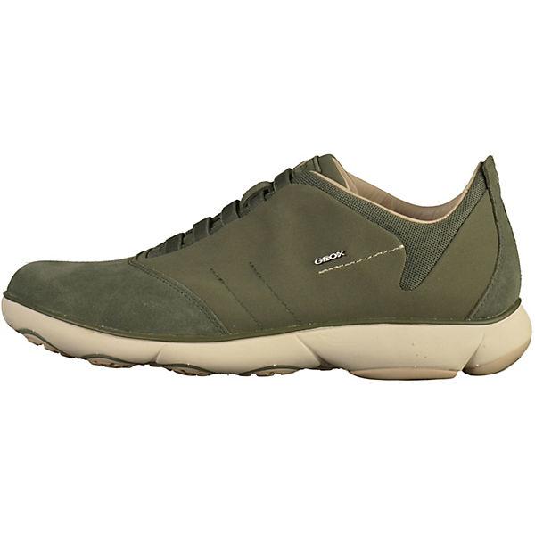 GEOX Sneakers Low khaki  Gute Qualität beliebte Schuhe