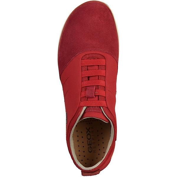 GEOX Low GEOX GEOX Sneakers dunkelrot Low Low dunkelrot GEOX dunkelrot Sneakers Sneakers nq1xO80