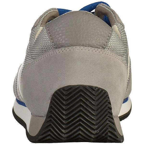 GEOX, Sneakers Low, hellgrau  Gute Qualität Qualität Qualität beliebte Schuhe 8406dd