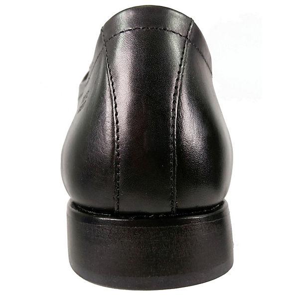 FRETZ men, Business-Schnürschuhe, schwarz Schuhe  Gute Qualität beliebte Schuhe schwarz e84d13
