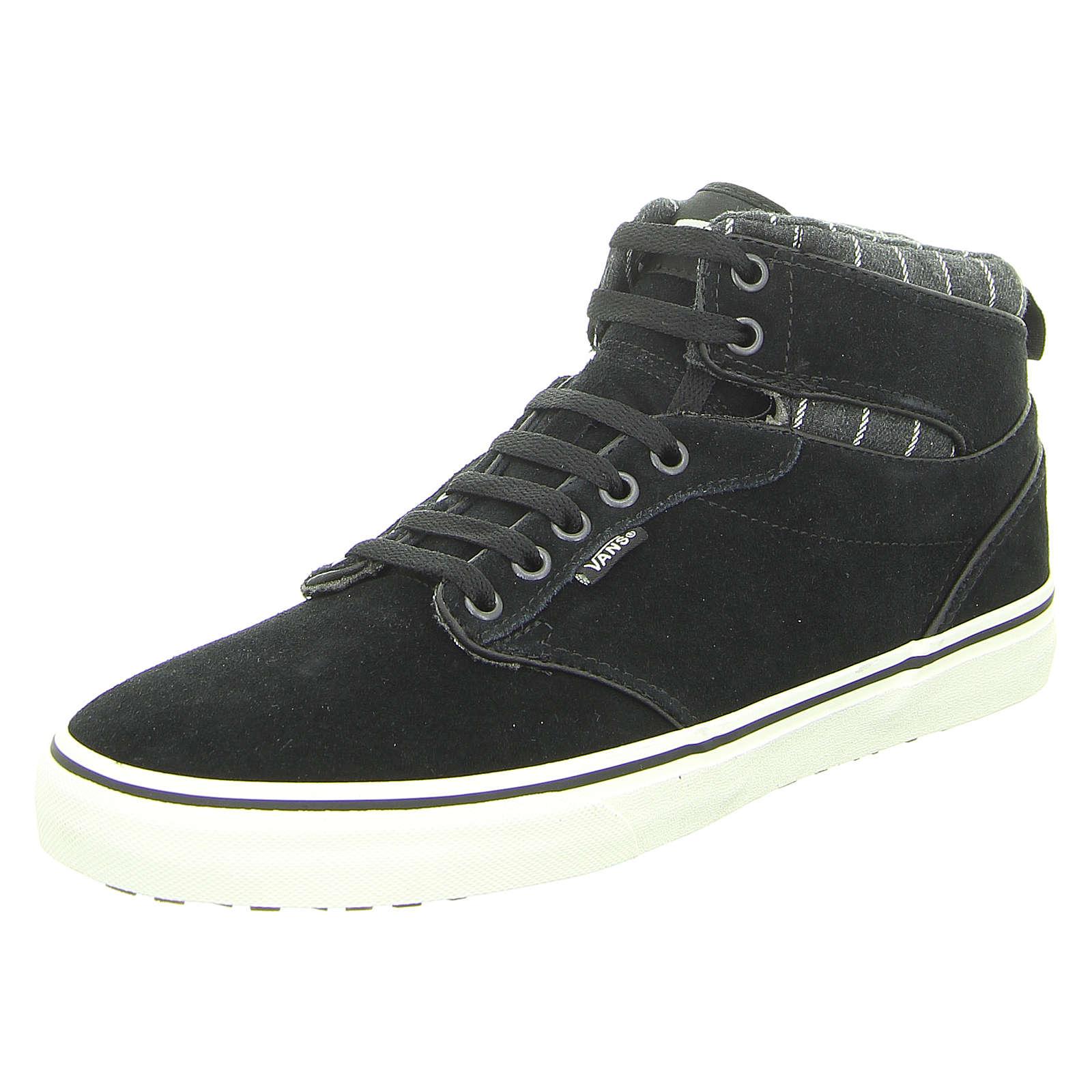 VANS Sneakers High schwarz Herren Gr. 43