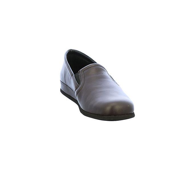 ROHDE, Klassische Slipper, schwarz     8f259a