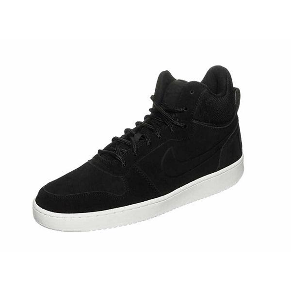 NIKE Sneakers High schwarz