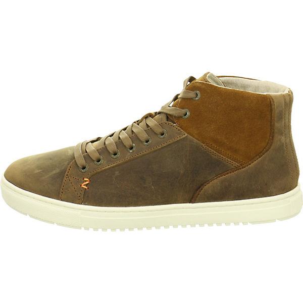 HUB Sneakers High braun