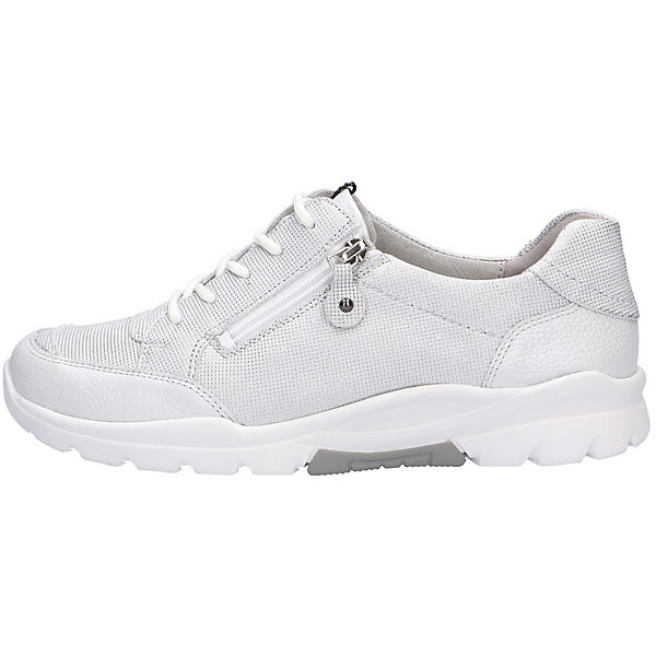 WALDLÄUFER Komfort-Halbschuhe HARUKA silber  Gute Qualität beliebte Schuhe