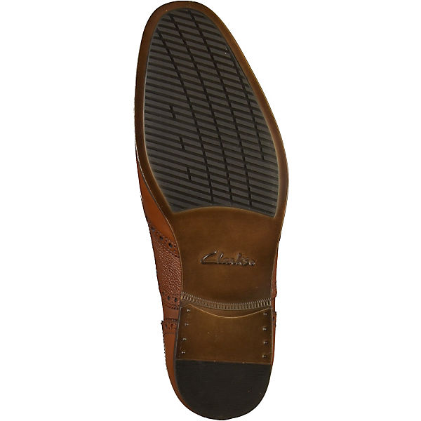 Clarks,  Business-Schnürschuhe, braun  Clarks, Gute Qualität beliebte Schuhe 41e40d