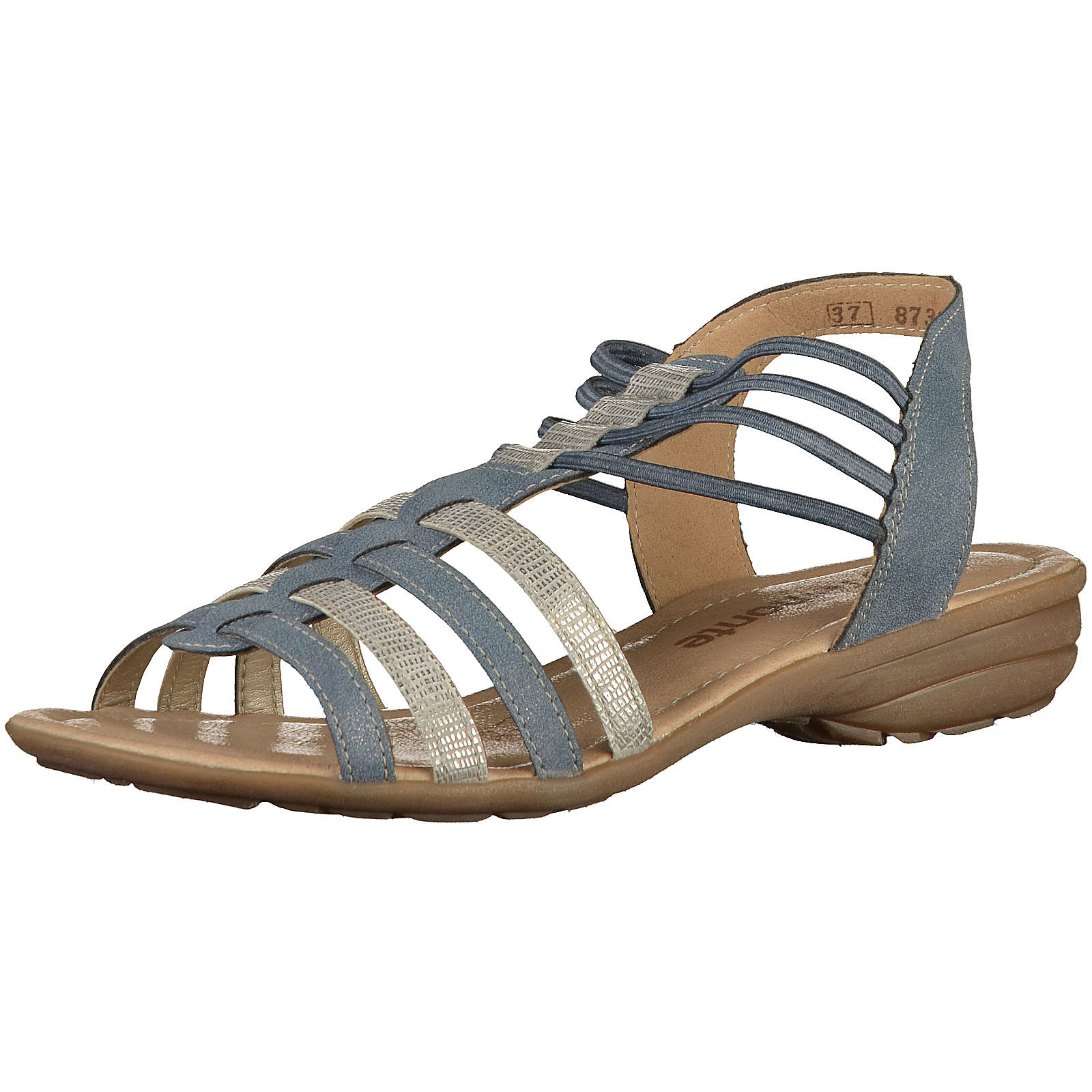 remonte Klassische Sandalen blau Damen Gr. 36